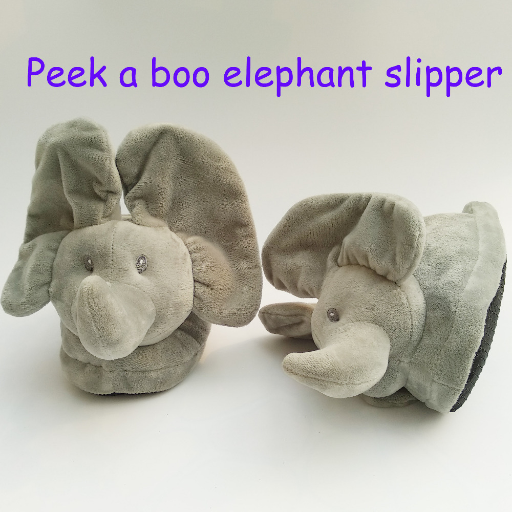 Nova Peek A Boo Brinquedo Elefante, brinquedo de pelúcia & Bichos de pelúcia Elefante de Brinquedo O Melhor Presente Para Sua Pessoa Amada