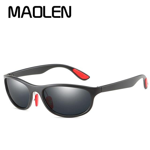 46578fc74a91 MAOLEN BRAND DESIGN Polarized Sunglasses Men Women Driving Male Sun Glasses  Fishing Sport Style Eyewear Oculos Gafas