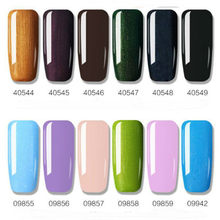 7 ml żel do paznokci lakier do paznokci Semi Permanant opies Soak Off Gelpolish do paznokci projekt Manicure lakier żelowy UV Lacque # p35(China)