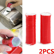 2PCS Plastic Fiber Metal Rust Cleaning Brush Pan Pot Stains Remover Washing Stick Magic Kitchen Cleaning Brush Tool 4 Colors(China)