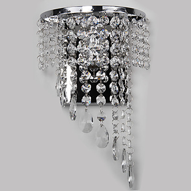 Fashion Wall Sconces Modern Crystal Wall Light Fixtures For Home Bedroom Bedside Lamp Wall LED Lampara Pared contemporary elegant crystal drops wall light living room bedroom bedside lamp mirror hallway light fixtures wall sconces wl194