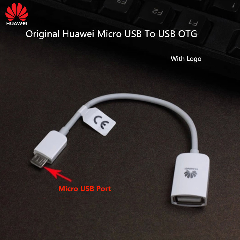 PRO OTG Cable Works for Huawei Ascend Mate Right Angle Cable Connects You to Any Compatible USB Device with MicroUSB