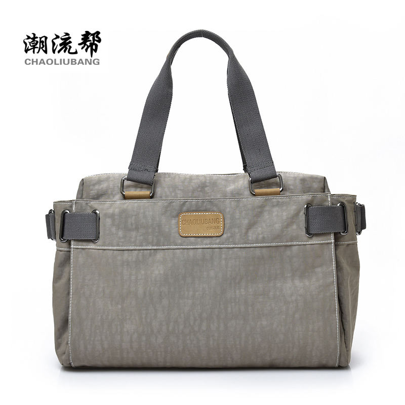 Women's shoulder bag oxford fabric handbag large capacity solid color casual all-match travel bag luggage fashion preppy fashion casual large capacity handbag for men shoulder bags male waterproof oxford fabric bussiness bag mochila high quality