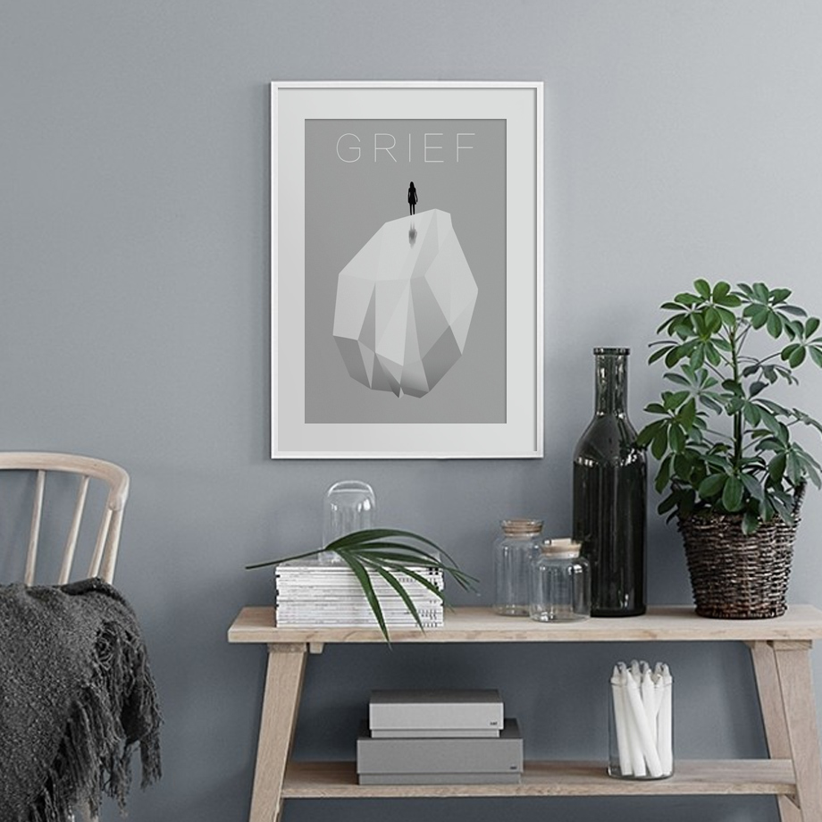 Wall-Art-Canvas-Painting-Abstract-Girl-Alone-Meditation-Art-Prints-Nordic-Posters-And-Prints-Wall-Pictures (3)