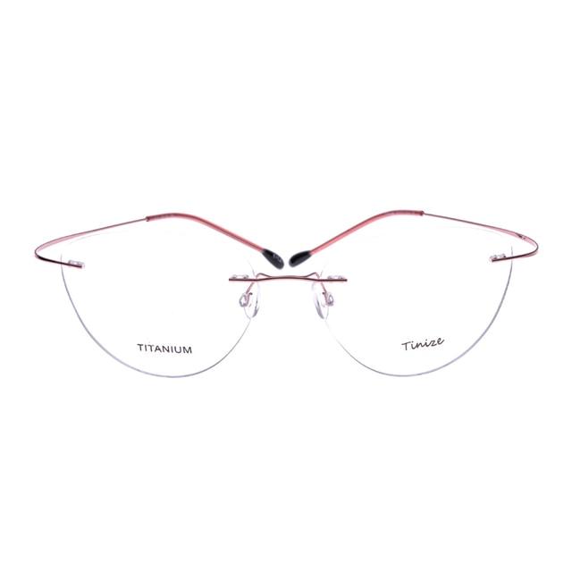 b1132f223d Light-weight 8 Colors Pilot-Aviattor Rimless Optical Glasses Memory  Titanium Eyeglasses Prescription Rx