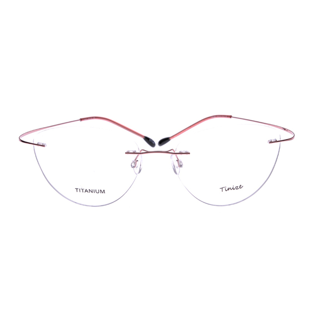 Peso-leve piloto 8 cores-aviattor memória titanium sem aro vidros ópticos armações de óculos de prescrição rx lente demo