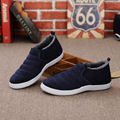 Autumn Winter Warm Comfortable Casual Cheap Short Plush Portable Silp on Flat Loafers Home Shoes Men Shoes