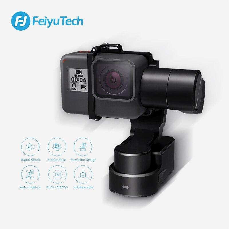 FeiyuTech Feiyu WG2X Splash proof 3 axis Wearable Gimbal Stabilizer for GoPro Hero 7 6 5