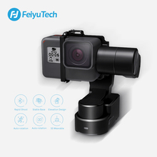 FeiyuTech Feiyu WG2X Splash-proof 3-axis Wearable Gimbal Stabilizer for GoPro Hero 7 6 5 4 Session Sony RX0 YI 4K Action Camera 2019 funsnap caputure 2 three axis phone handle gimbal stabilizer for andriod ios smartphones gopro 5 6 7 action cameras