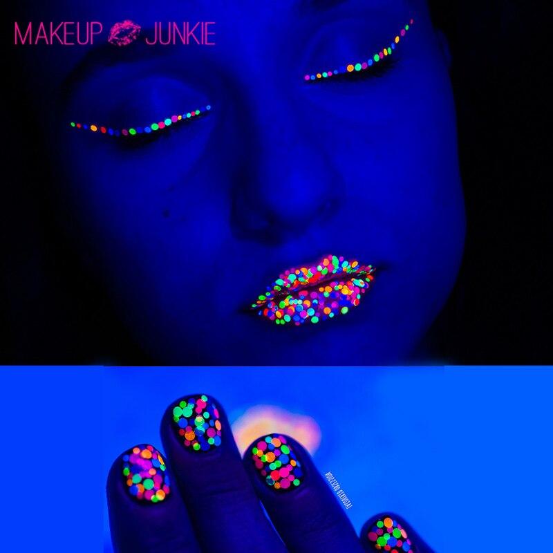 1 box Makeup Paillette Florescent Eye Shadow