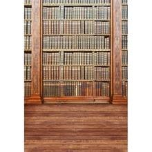 MEHOFOTO Vinyl Photography Computed Printed School Indoor Bookshelf