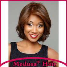 Medusa hair products Classic Synthetic pastel mono wig for women Medium length wavy bob style Mix
