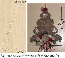 Christmas tree moulds die cut accessories wooden die Regola Acciaio Die Misura (MY  ) christmas tree moulds die cut accessories wooden die regola acciaio die misura my