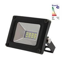 led flood light 10 W 20 W 30 W 50 W Waterproof IP65 AC175 265V Garden Spotlight exterior lighting projector lamp leds