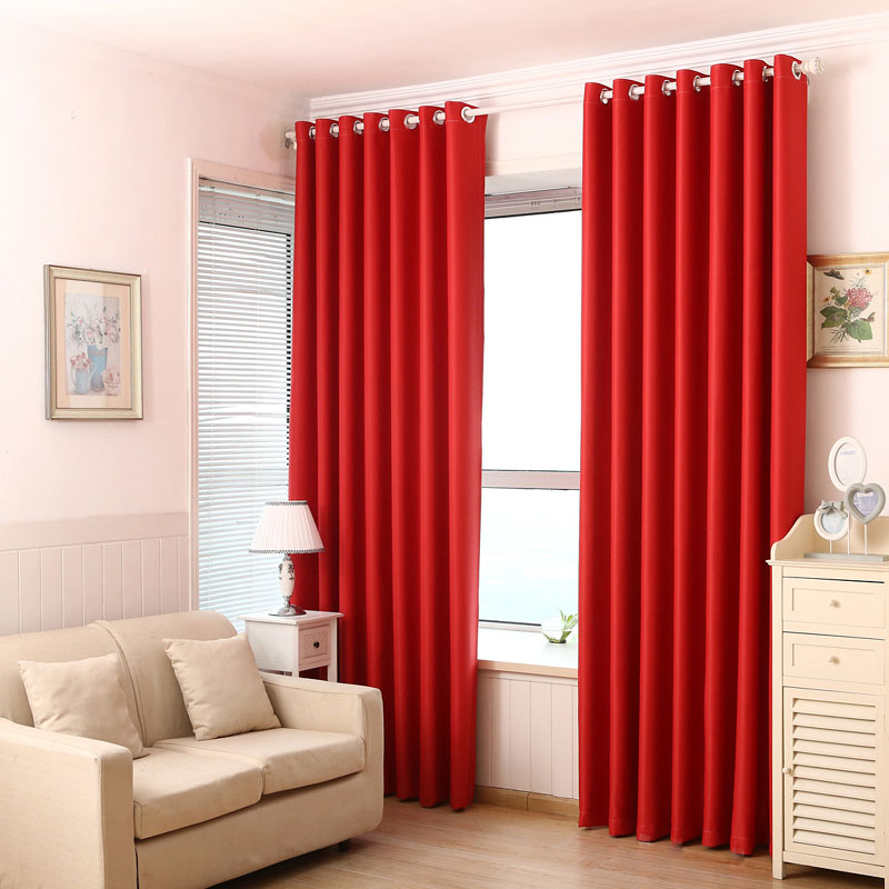 Marvelous Red Blackout Curtains