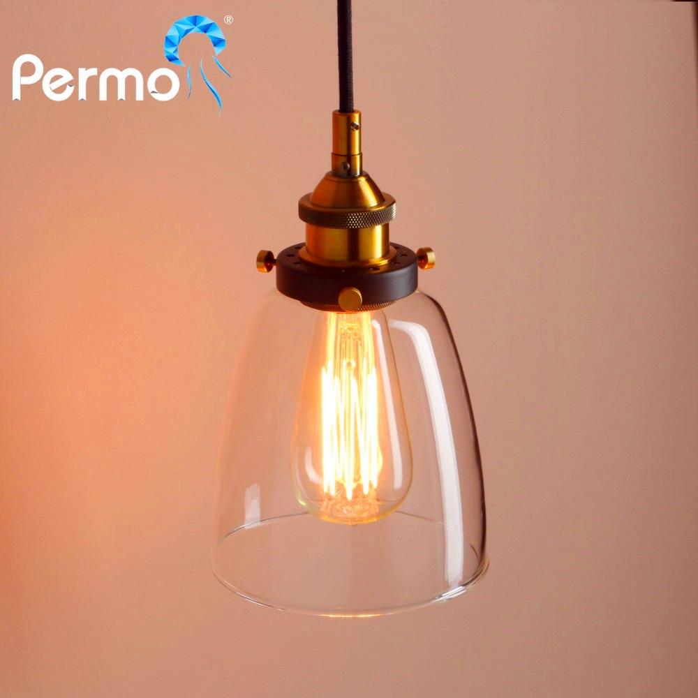 "Aliexpress.com : Buy PERMO 7.4"" Retro Oval Pendant Lights"