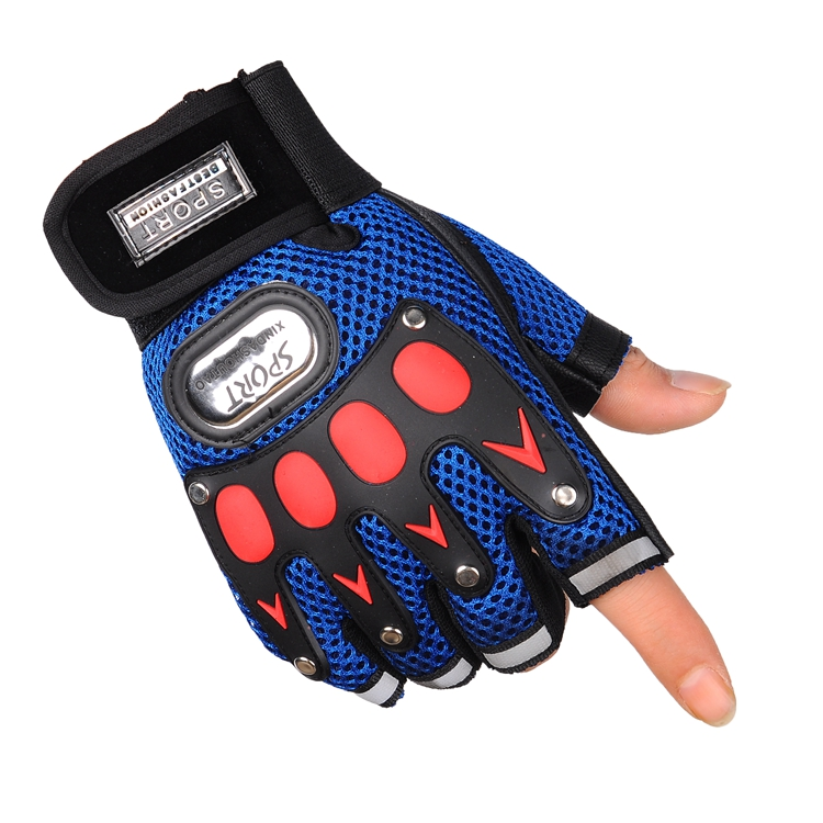 ФОТО Seckill riding half Gloves Mens breathable sunscreen anti-skid sports outdoor climbing fitness gloves fingerless gloves