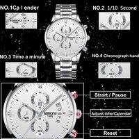 NIBOSI Luxury Waterproof Full Steel Quartz Gold Watch 1