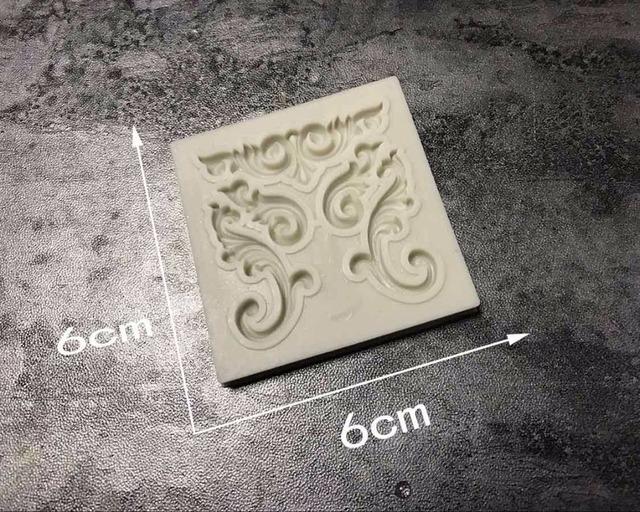 1pc Retro Totem Silicone mold fondant mold cake decorating tools chocolate gumpaste mold B073