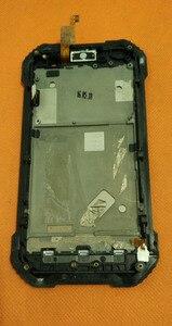 "Image 3 - تستخدم الأصلي لمس الشاشة + شاشة lcd + الإطار ل blackview BV6000 MT6755 الثماني النواة 4.7 ""hd شحن مجاني"