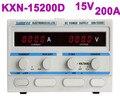 Новейший оригинальный ZHAOXIN KXN-15200D KXN серия высокомощный импульсный источник питания постоянного тока одиночный выход: 0-15 в 0-200A