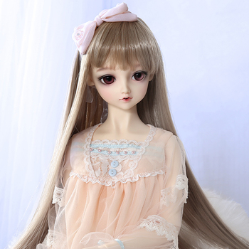 Free Shipping  Lieselotte 1/3 Doll BJD MSD High Quality Toys Shop Resin Ball Joint Doll Fullset including clothes wigs eyes 2