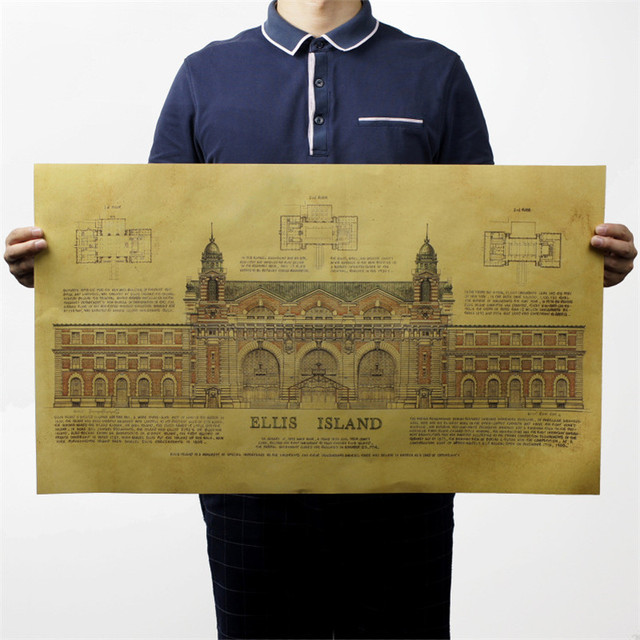 US $3.49 30% OFF|Large Vintage Map Ellis Island Museum poster Home on history us map, the great depression us map, california us map, buffalo us map, new orleans us map, hudson river us map, new york city us map, brooklyn us map, united nations us map, manhattan us map, the statue of liberty us map, gettysburg us map, cape may us map, pearl harbor us map, war of 1812 us map, england us map, washington us map, united states us map, immigration us map,