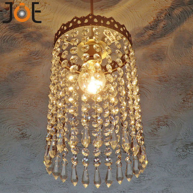 New arrivals Crystal chandelier Waterfall Lampshade Light fixtures Vintage  Antique Style Decor lamp for kitchen bedroom - New Arrivals Crystal Chandelier Waterfall Lampshade Light Fixtures