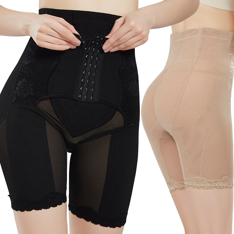 Body shaping pants female high waist postpartum tummy hips leggings underwear body fat reduction shaping thin section summer