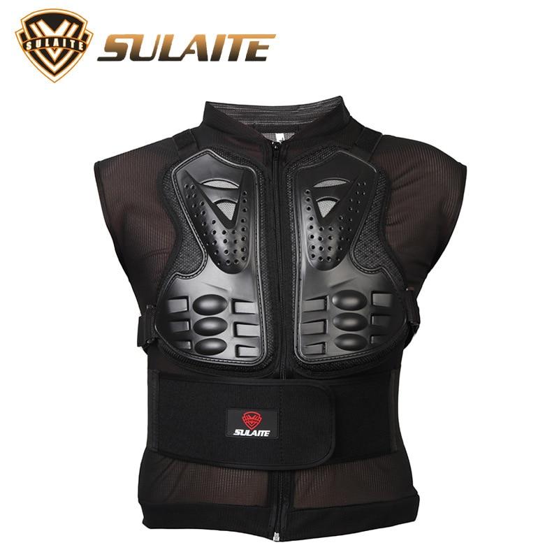 Motorcycle armor Jacket motocross Body Armor jackets Skiing skating non-sleeve sports pr ...