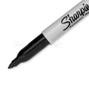 Image 3 - 12pcs/set Sharpie Marker Pen Permanent Eco friendly 1mm Round Toe Marker Pen Painting Oily Pen