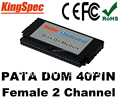 Industrial 40PIN PATA IDE DOM Disk Female Vertical Socket Disk On Module  4GB 8GB 16GB 32GB For Windows series Free Cable