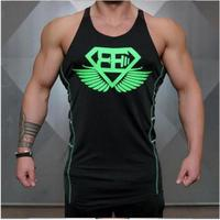 In 2017 The New Men S Gyms Fitness Sleeveless Vest Brand Leisure Shirt Man Hot Sale