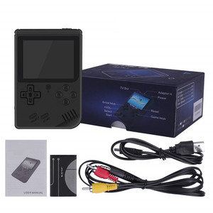 Image 5 - Coolbaby רטרו נייד מיני כף יד משחק נגן קונסולת 8 Bit 3 אינץ צבע LCD ילדים צבע משחק נגן מובנה 168 משחקי וידאו