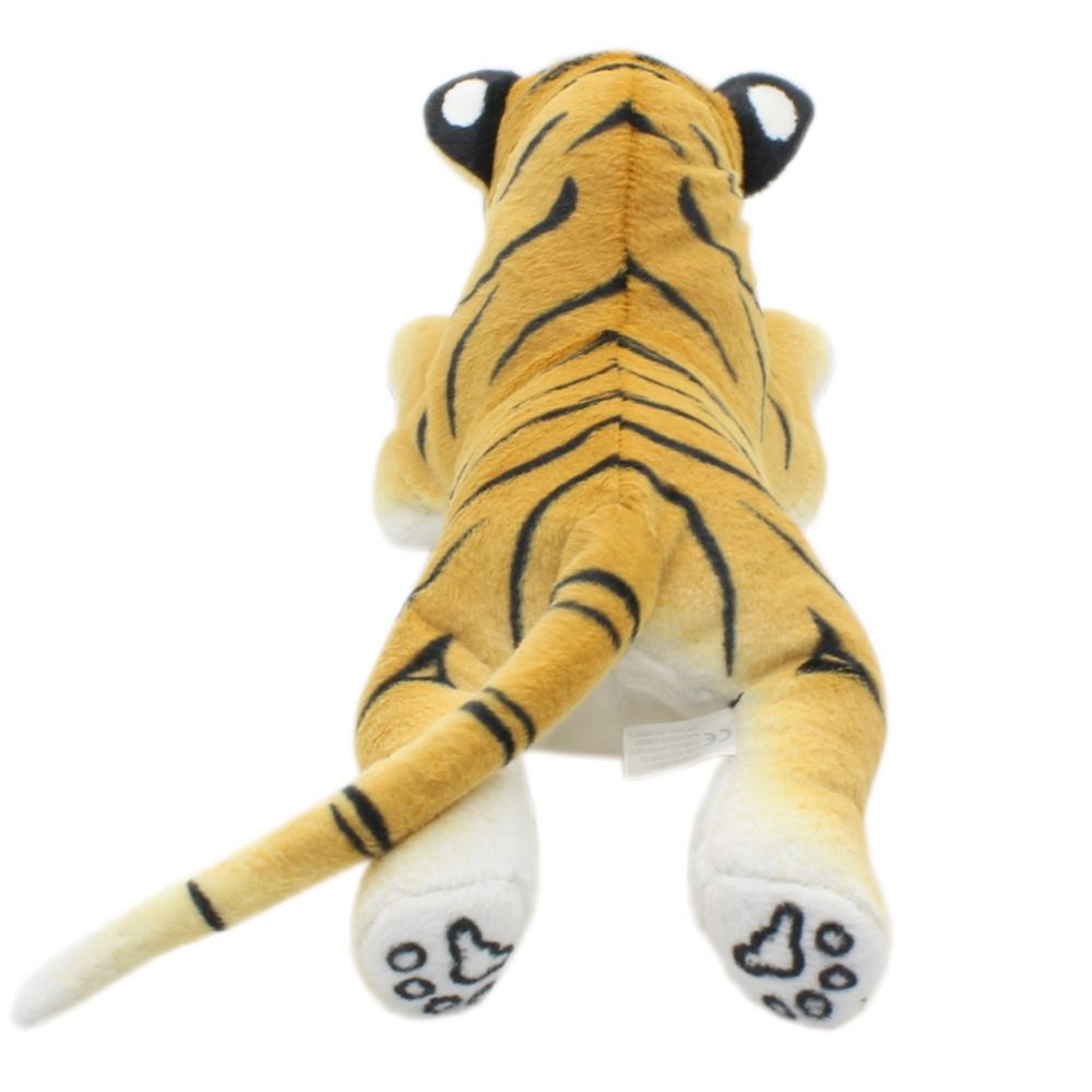 Jesonn Realistic Stuffed Animals Tiger Cheetah Panther Lion Lifelike