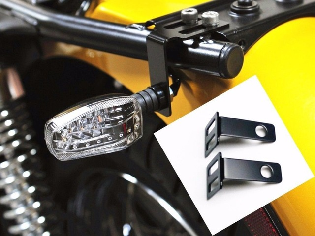 Turn Signal Seat Mount Bracket For Triumph Bonneville Se Thruxton