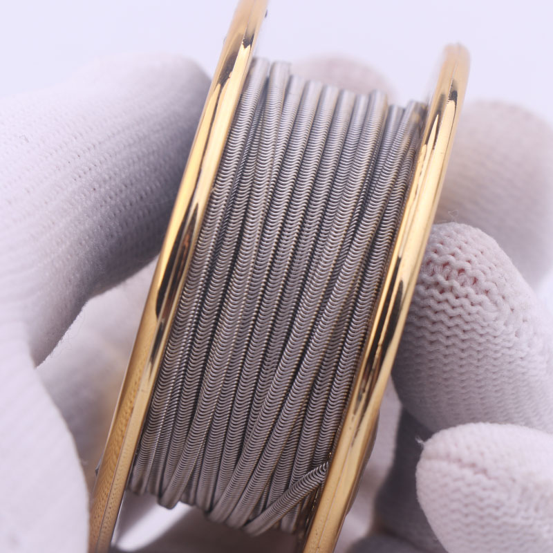 10/15 Feet High Density NI80 SS316 Heating Wire XFKM Alien V2 Coil Wire RDA RBA RDTA Rebuildable Atomizer Heating DIY Coil Wire