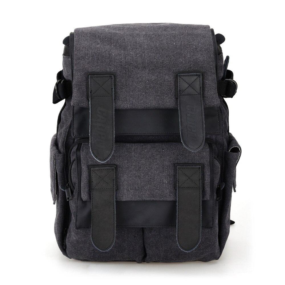 2016 Hot CADEN M5 Travel Double Shoulder Camera Bag DSLR SLR Camera Bags Laptop Backpack For Canon #ED114 new arrival caden l5 stylish nylon multifunction shockproof camera backpack bag for canon nikon hot selling