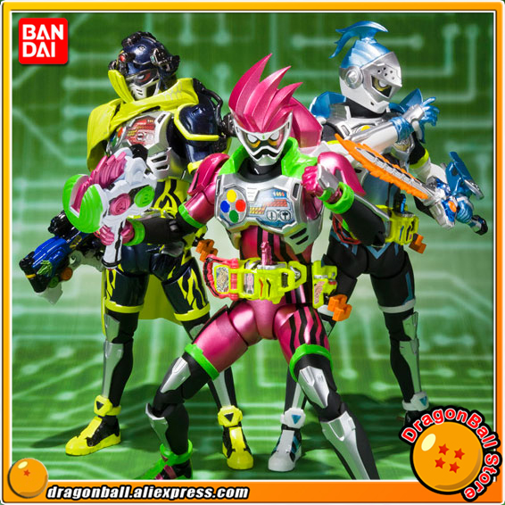 Anime Kamen Rider Ex-Aid Original BANDAI Tamashii Nations SHF/ S.H.Figuarts Action Figure - Mighty Action X Beginning Set anime captain america civil war original bandai tamashii nations shf s h figuarts action figure ant man