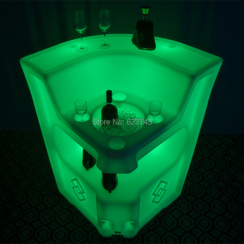 LED BAR Lumineux Table 9
