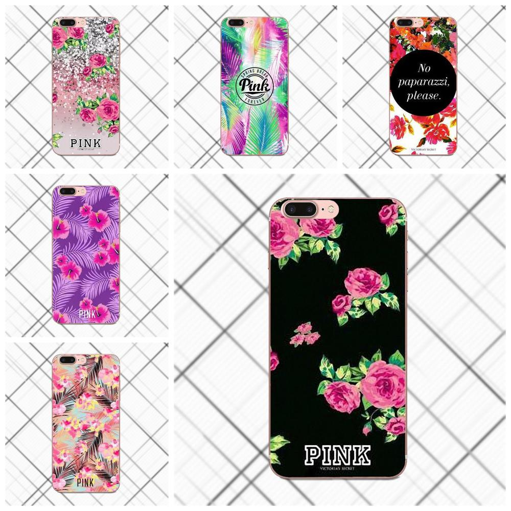 Vs Flower Pattern For Huawei G8 Honor 5C 5X 6 6X 7 8 9 Y5II Mate 9 P8 P9 P10 P20 Lite Plus 2017 Hot Selling Design Cell Case