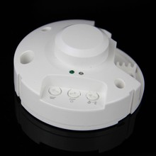 Newest 5.8GHz HF Systerm LED Microwave 360 Degree Radar Sensor Light Switch Ceiling light Occupancy Body Motion Detector