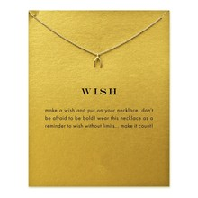 Design inspiration Fashion wishbone Classic Classic Clavicle Chain Pendant Necklace For Women Jewelry