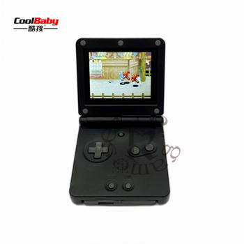 DHL 10pcs/lot 2019 GB boy PVP Handheld Game Player 32Bit Game Console with Bulit-in 268 Games Retro For Gaming with TF Card slot