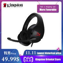 Kingston HyperX Cloud Stinger Auriculares Headphone Steelseries Gaming Headset with Microphone Mic For PC PS4 Xbox Mobile(China)