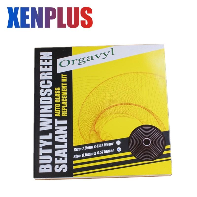Car Light Accessories Automobiles & Motorcycles Xenplus 1x Black Snake Butyl Synthetic Rubber Glue Auto Headlight Retrofit Speaker Windscreen Adhesive Glue Sealant 9.5mm*4.57m Bright In Colour