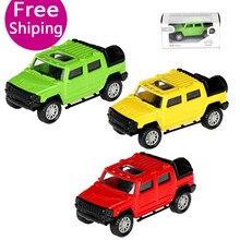 1:43 Alloy Return Hummer Model Toy Drop-Resistant Hot-Selling Childrens Christmas Arrangements