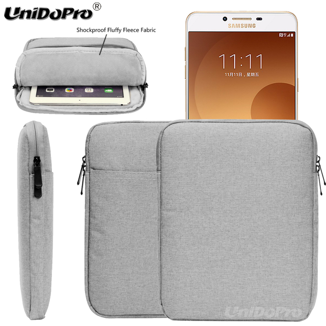 competitive price 469ba 91b9f US $13.87 |Unidopro Portable Housse Waterproof Sleeve Case for Samsung  Galaxy C9 Pro C9000 C900F/DS Cover Zipper Pouch Bag Sac Couverture-in Phone  ...