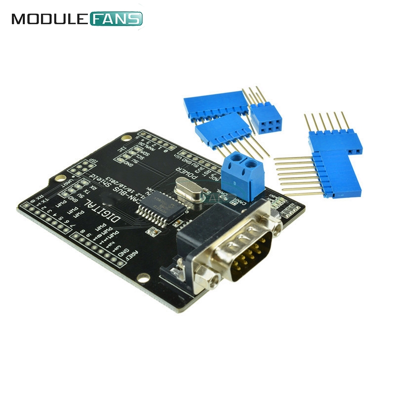mcp2515 can bus shield board spi interface connector. Black Bedroom Furniture Sets. Home Design Ideas