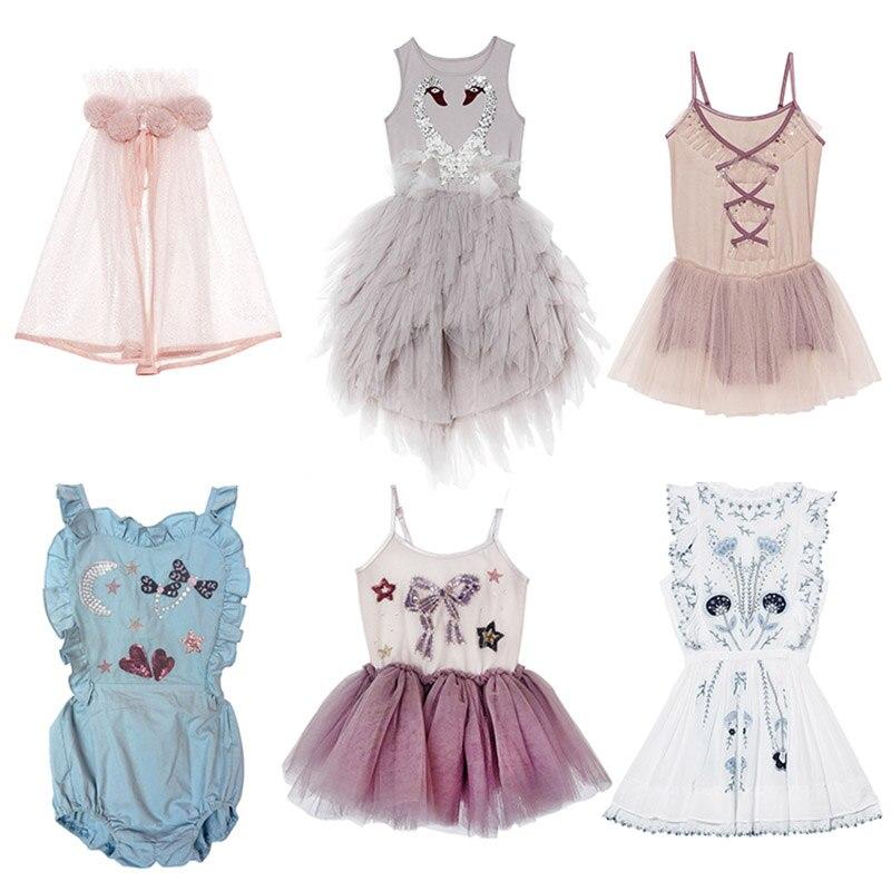 1875c8973 EnkeliBB tutú del mundo de las niñas pequeñas Swan tutú vestidos de fiesta  de lujo para niños ...